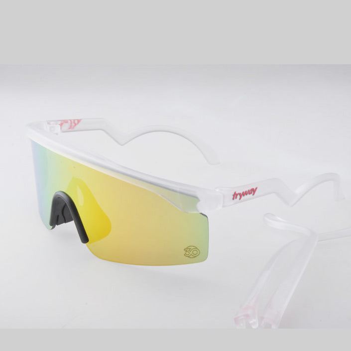 2019 New Razor blades sunglasses Heritage Edition Iridium shield Lens blades oculos del sol ciclismo outdoor bike glasses with box