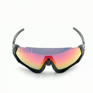 OO9401 Flight Jacket goggles Polarized sunglasses 3lens men sport Road MTB glasses