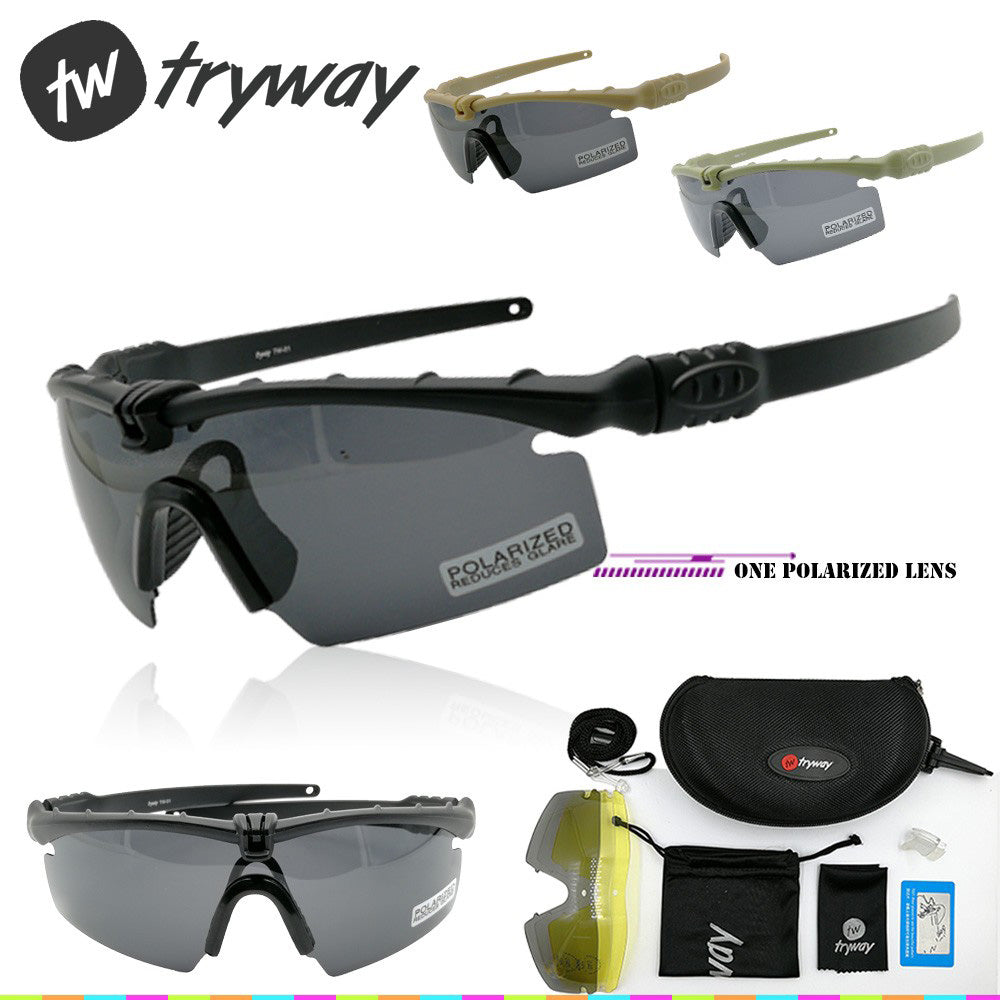 Polarized Military Frame Ballistic Tactical Eyewear Glasses Protection Goggles 3 0 Si Strike Tr90 M ZiPkuOTwX