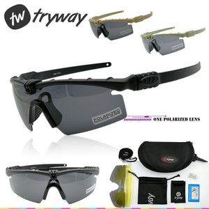 Tactical eyewear SI BALLISTIC M 3.0 Protection Military Strike glasses TR90 Frame Polarized Goggles