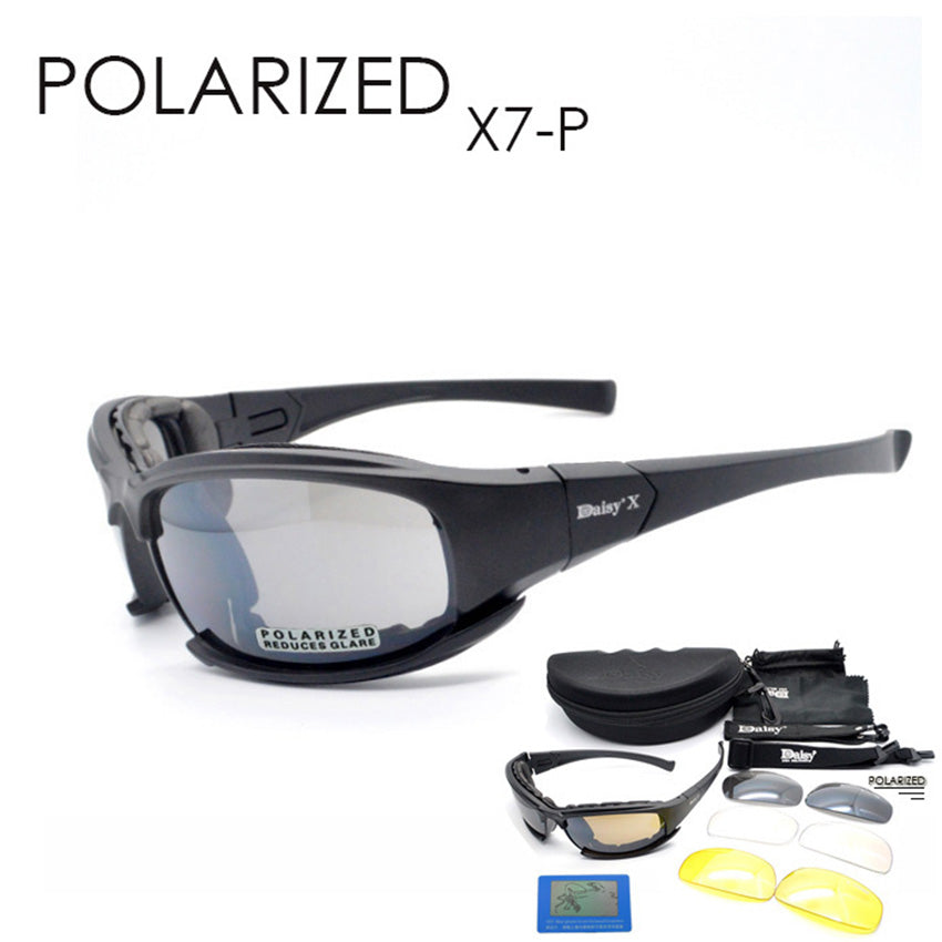 b31083c2a6a DAISY X7 Goggles Men Military polarized sunglasses Bullet proof airsoft  shooting Cycling glasses