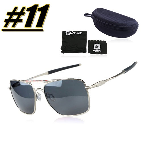 Polarized Aviator glasses 59mm Driving eyewear Police lifestyle UV400 Oculos de sol Classic glasses