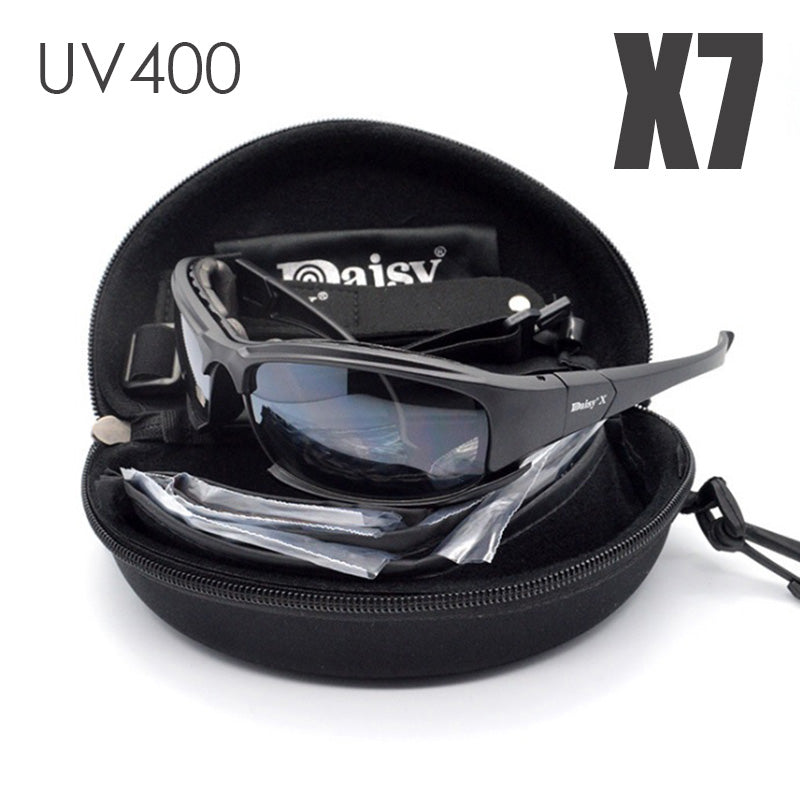 6551d447d6 DAISY X7 Goggles Men Military polarized sunglasses Bullet proof airsoft  shooting Cycling glasses