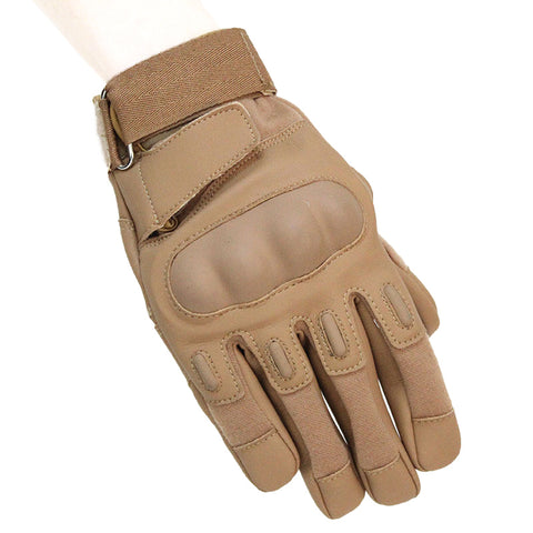Tactical Black Gloves Full finger Wear PU Leather hawk HellStorm Military army Airsoft Adjustable Protective hiking Gloves