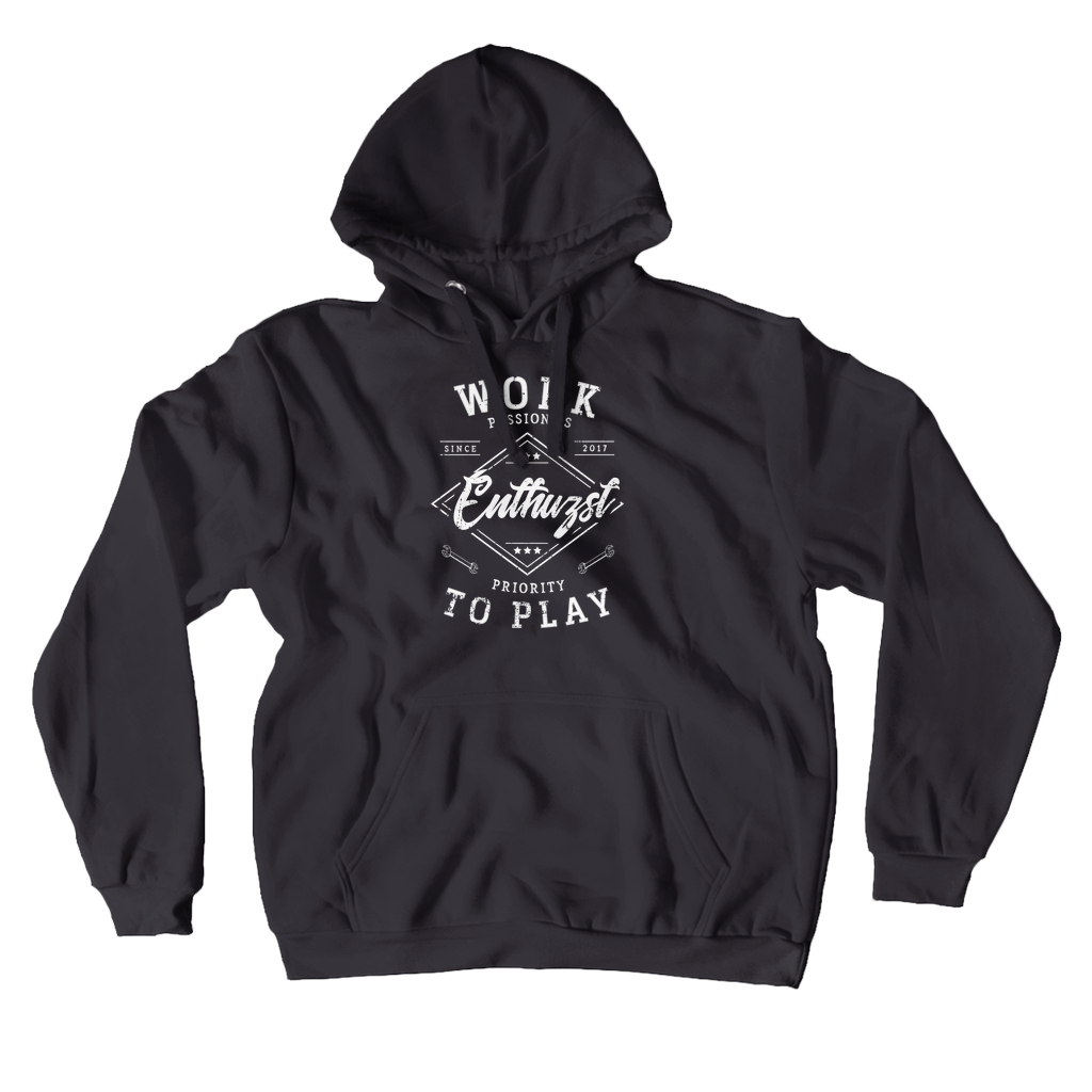 Work To Play Hoodie