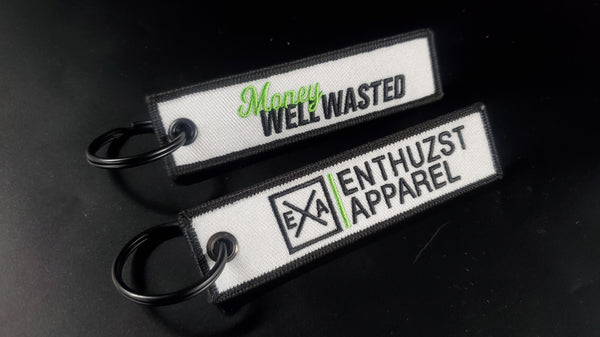 Money Well Wasted - Key Tag