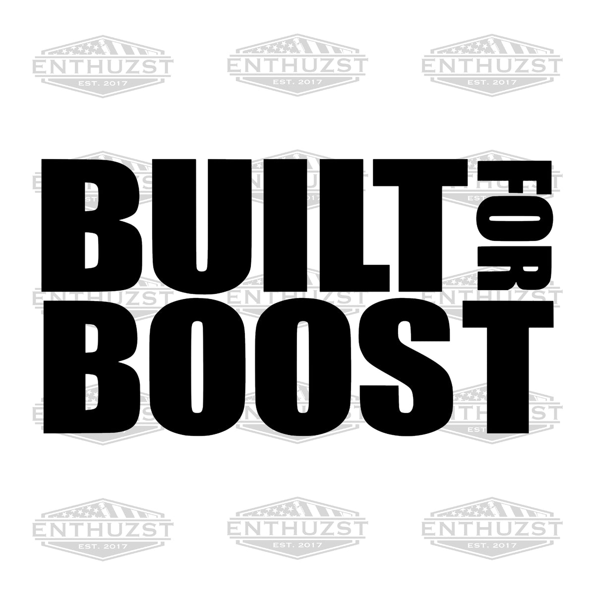 Built For Boost - Decal