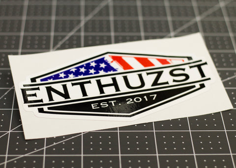 Enthuzst Decal
