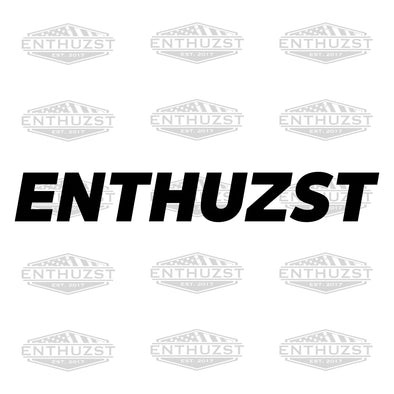 Mini Enthuzst - Decal