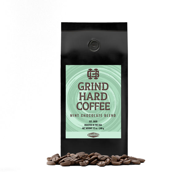 Mint Chocolate Blend Premium Coffee - GHC x Enthuzst