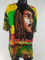 UNISEX BOB MARLEY FACE TOP - Belle De'esse Boutique