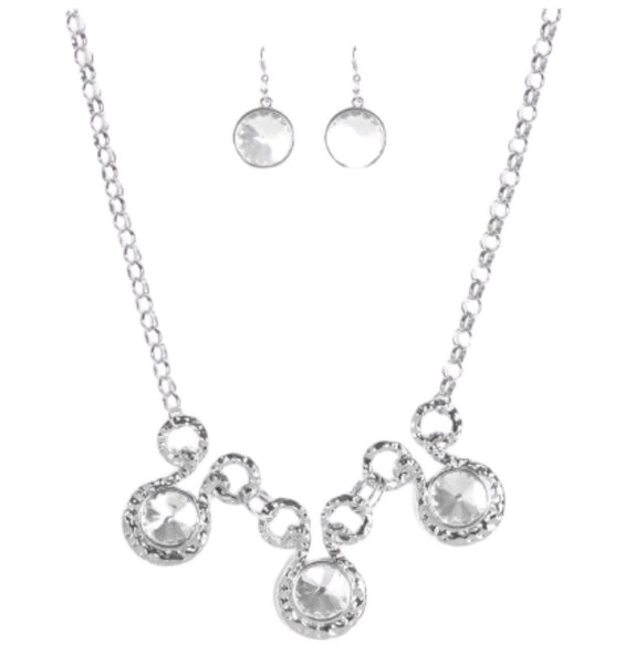 Hypnotized Silver Necklace