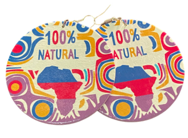 100 % Natural Earrings