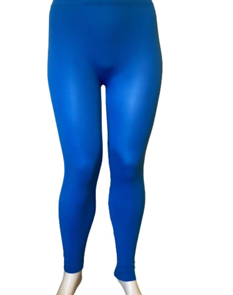 Blue Winter Leggins - Belle De'esse Boutique