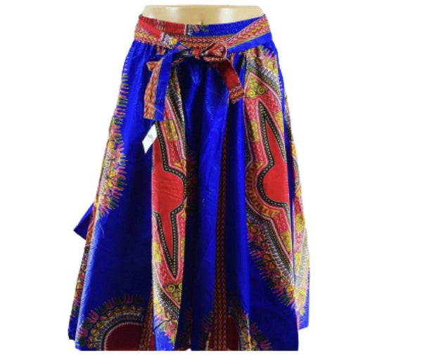 Dark Blue Maxi Skirt - Belle De'esse Boutique