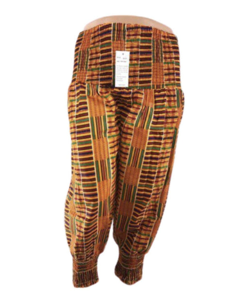 KENTE HAREM PANTS #1 - Belle De'esse Boutique