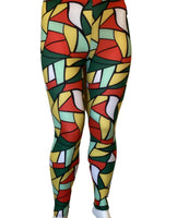 MOSAIC LEGGINS - Belle De'esse Boutique