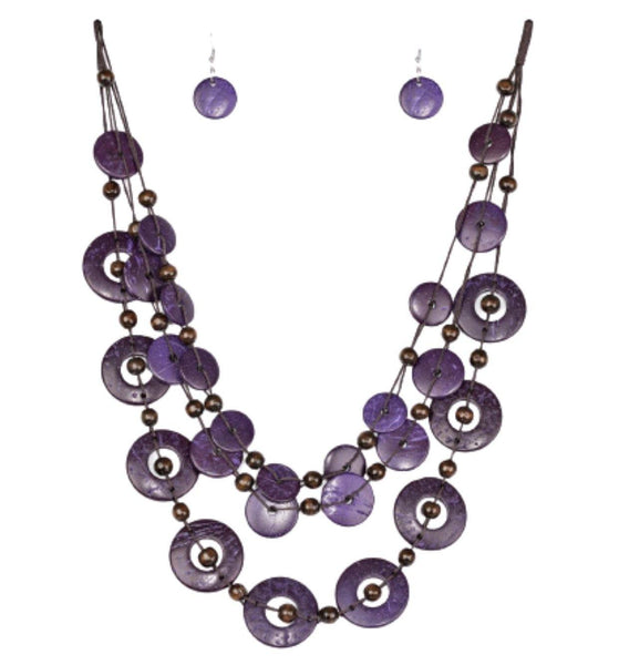 Paparazzi Catalina Coastin-Purple-Set