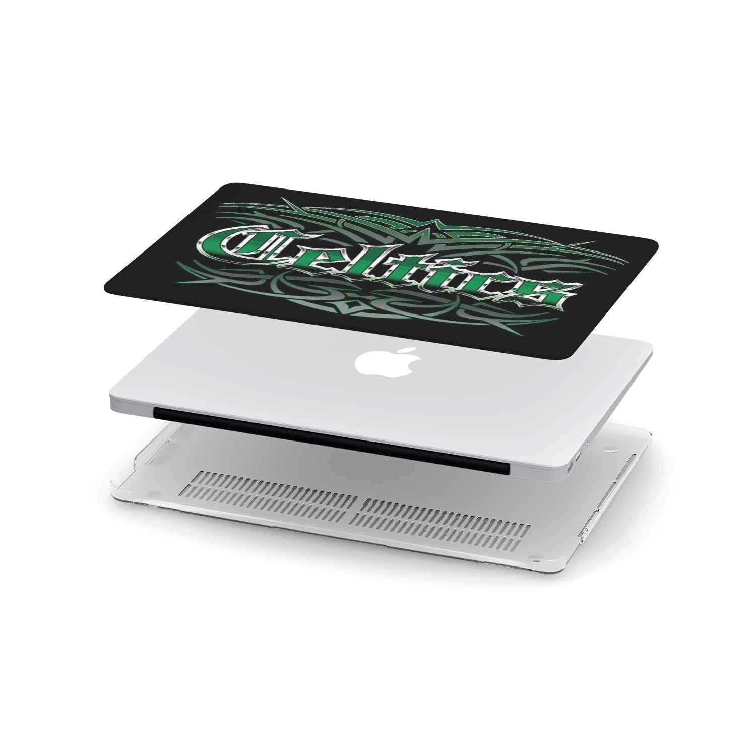 Celtics Team Custom MacBook Case - Woody Signs Co.