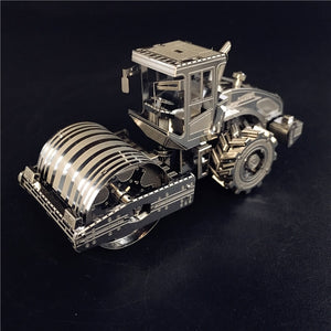 3D Metal model kit road roller vehicle  Model DIY 3D - Woody Signs Co.
