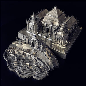 3D Metal puzzle Model Kits Dashuifa of Old Summer Palace DIY Assemble Puzzle Laser Cut - Woody Signs Co.