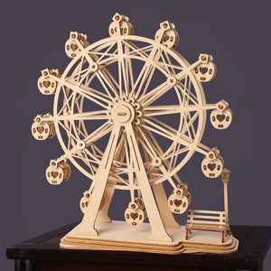 DIY 3D Laser Cutting Wooden Ferris Wheel Puzzle Game Gift for  Kids  Popular  TG401 (Ferris Wheel) - Woody Signs Co.