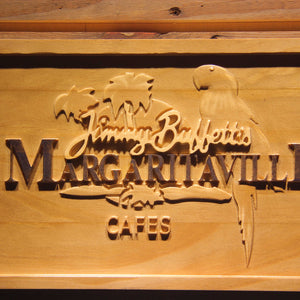 Jimmy Buffett Margaritaville 3D Wooden Signs - Woody Signs Co.