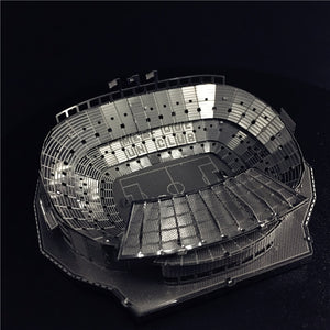 3D Metal model kit 1:3500 CAMP NOU STADIUM  Model DIY 3D - Woody Signs Co.