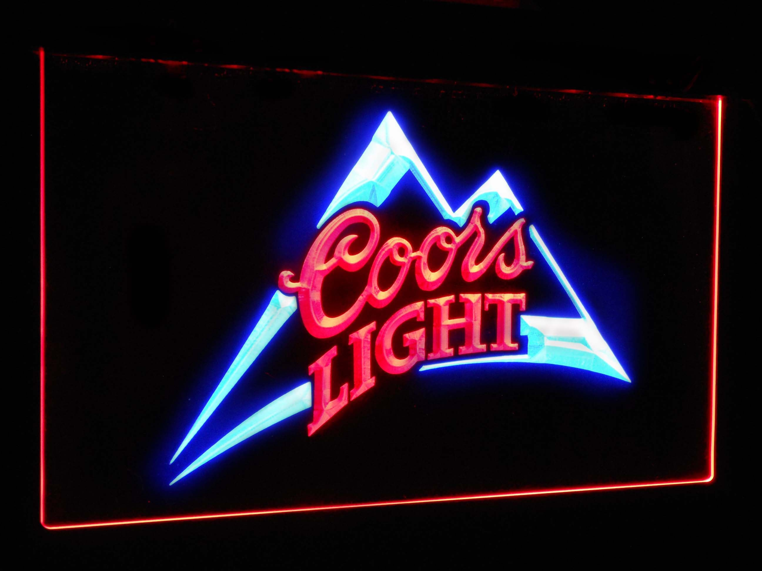 Coors Light  Bar Decoration Gift Dual Color Led Neon Light Signs st6-0004 - WoodySigns Co.