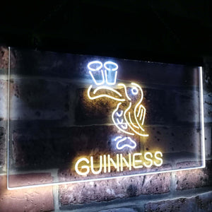 Lovely Day Guinness  Toucan Bar Decor Dual Color Led Neon Light Signs st6-a2121 - Woody Signs Co.