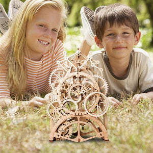 4 Kinds DIY Laser Cutting 3D Mechanical Model Wooden Puzzle Game Assembly Toy Gift for Children Adult for - Woody Signs Co.