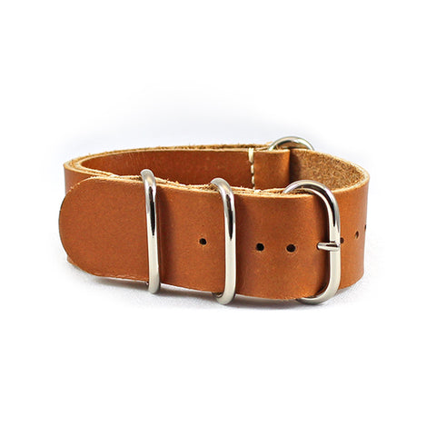 24mm tan nato watch strap