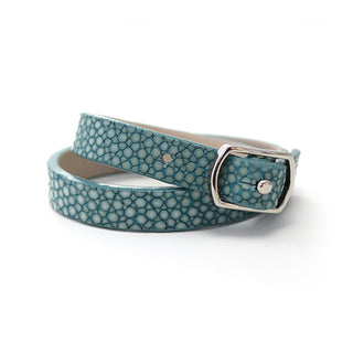 The Double Skinny - Turquoise - Polished