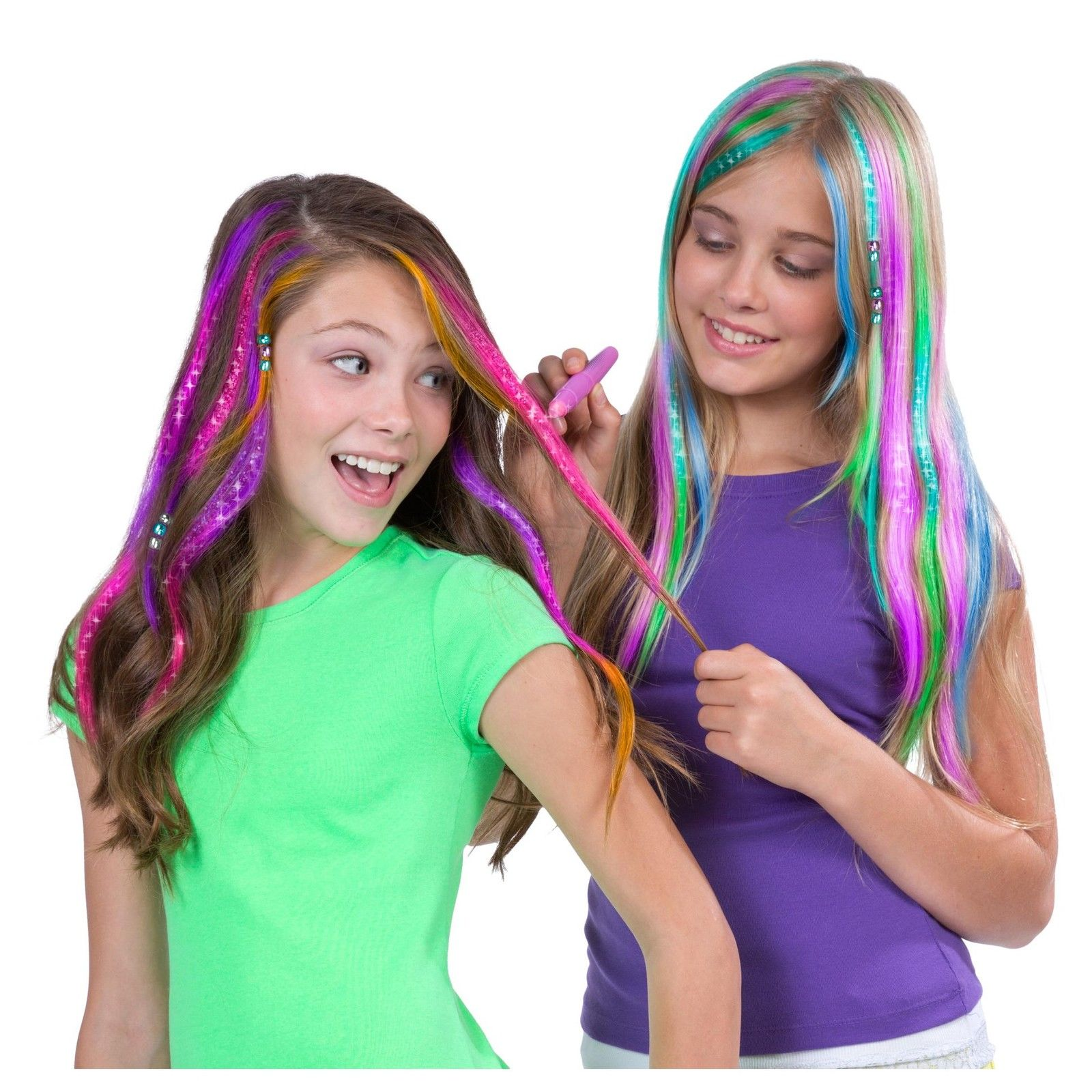 Kids Deluxe Hair Chalk Salon - Hair Color And Accessories – latest kids
