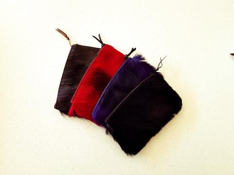 Dyed Springbok - Coin Purse | African San Taxidermy Studio