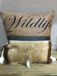 PIL11 - Springbok Pillow | African San Taxidermy Studio