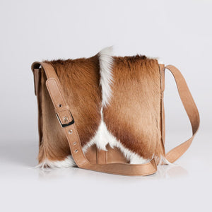 Springbok Handbag Mini Satchel | African San Taxidermy Studio