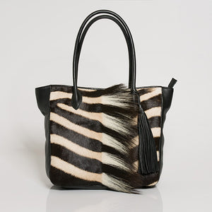 Zebra Handbag | African San Taxidermy Studio