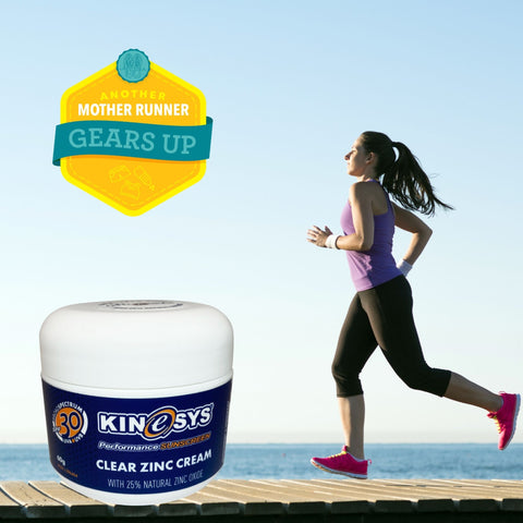 KINeSYS Natural Clear Zinc Another Mother Runner's Best Skincare Products for Runninng