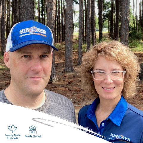 Lisa and Wade Heggie Owners of KINeSYS Performance Sunscreen