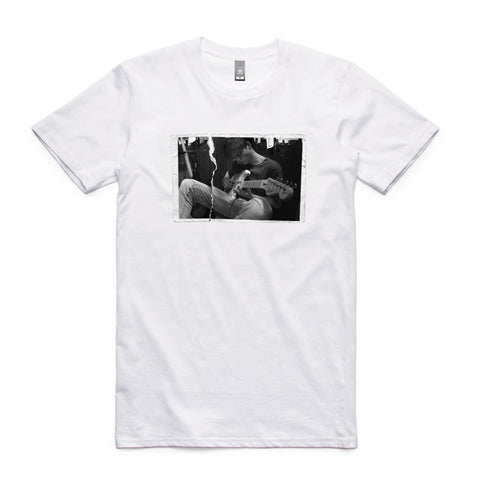 White Ripped Photo Unisex Tee