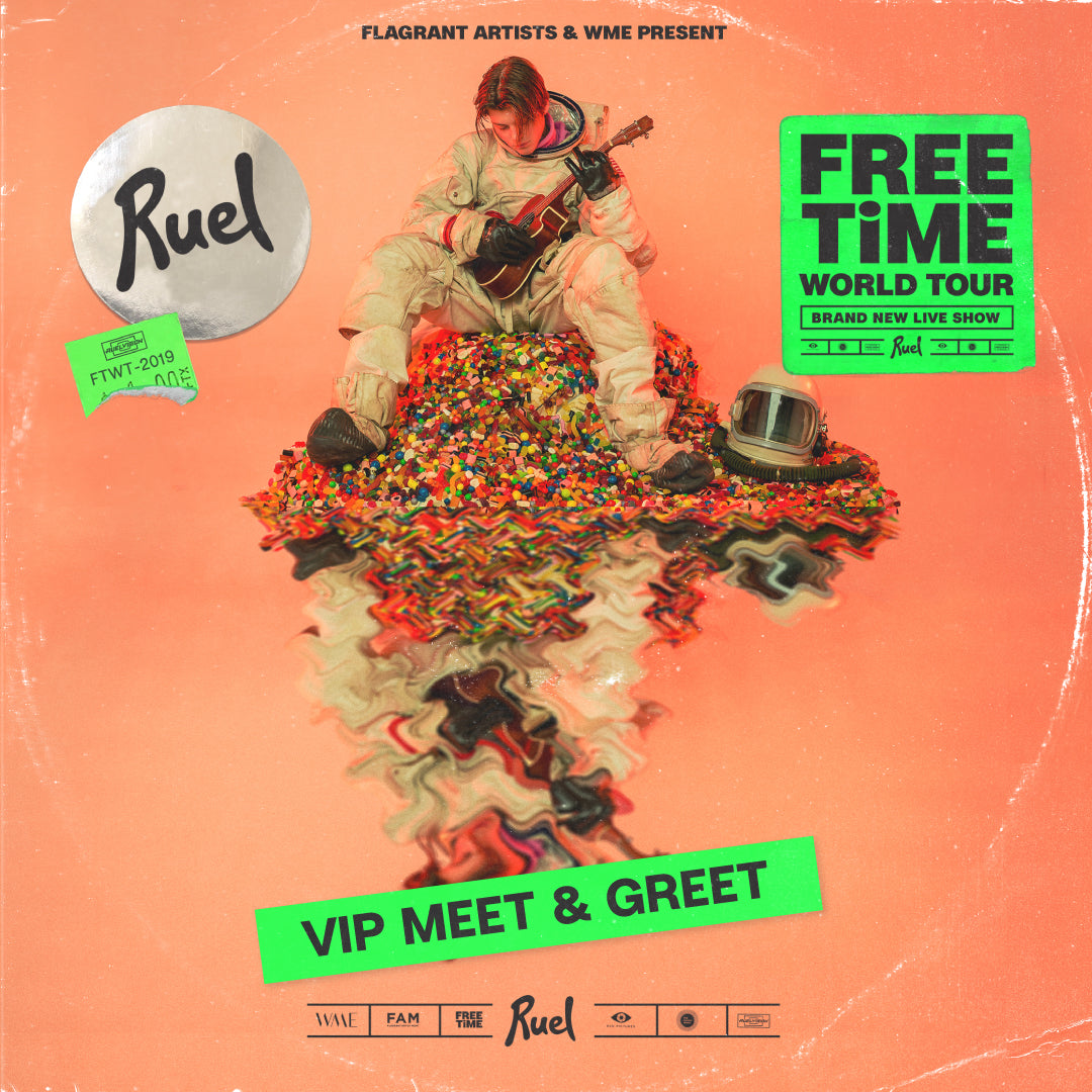 FREE TIME VIP MEET & GREET I ELECTRIC BRIXTON (LONDON 25TH NOVEMBER)