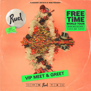 FREE TIME VIP MEET & GREET I FONDA THEATRE (LOS ANGELES 3RD NOVEMBER)