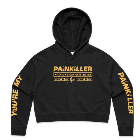Ruel Painkiller Tour Cropped Hoodie