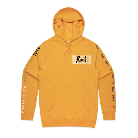 Painkiller World Tour Hoodie - Gold