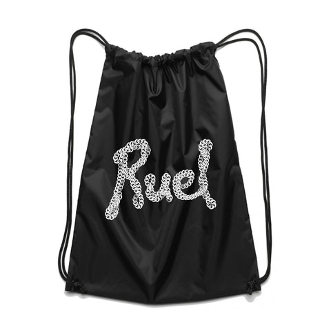Chain Logo Drawstring Bag