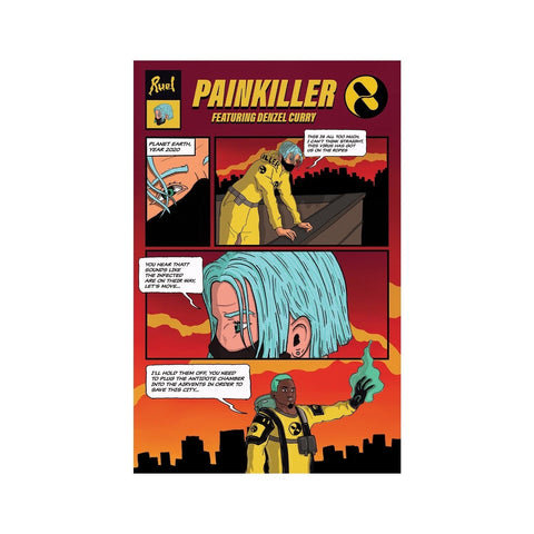 Painkiller Remix Poster