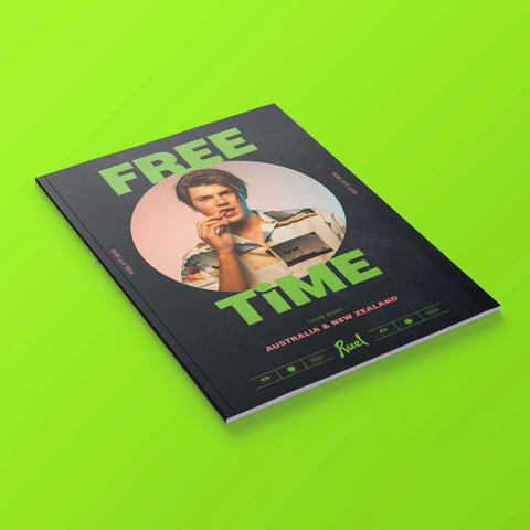 Free Time Tour Photo Book Limited Edition PRE-ORDER
