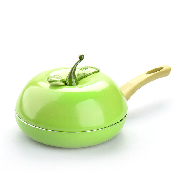 Hot Sale Fruit Frying Pan Colour Saucepan