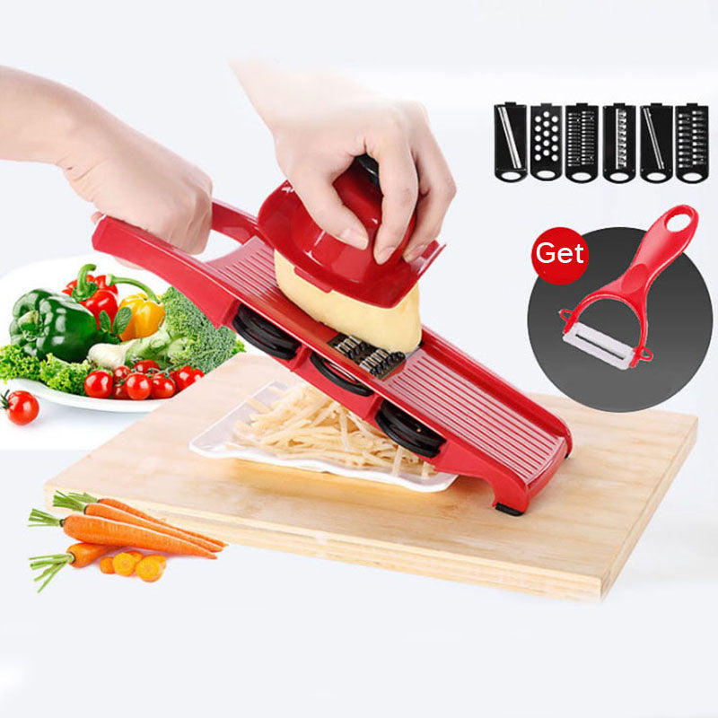 Creative Spiral Slicer Adjustable Blades Vegetable Cutter